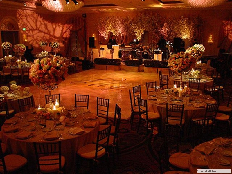 High Gloss White Dance Floor Rental