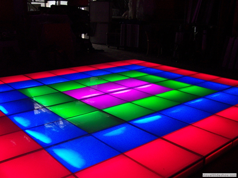 LED Intelligent Dance Floor Rental