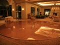 24 Ft Round Gold Dance Floor Rental