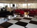 Black and White Checkered Dance Floor Rental