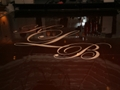 High Gloss Dark Chocolate Dance Floor Rental