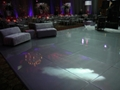 High Gloss Metallic Silver Dance Floor Rental