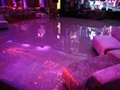 High Gloss Purple Dance Floor Rental