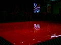 High Gloss Red Dance Floor Rental