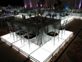 Illuminated Table Square Rental