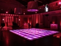 LED Lit Dance Floor Rental in Hot Pink
