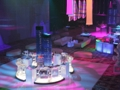Lighting Effects on High Gloss White Dance Floor Rental
