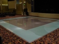 Silver with Tiffany Blue Dance Floor Rental